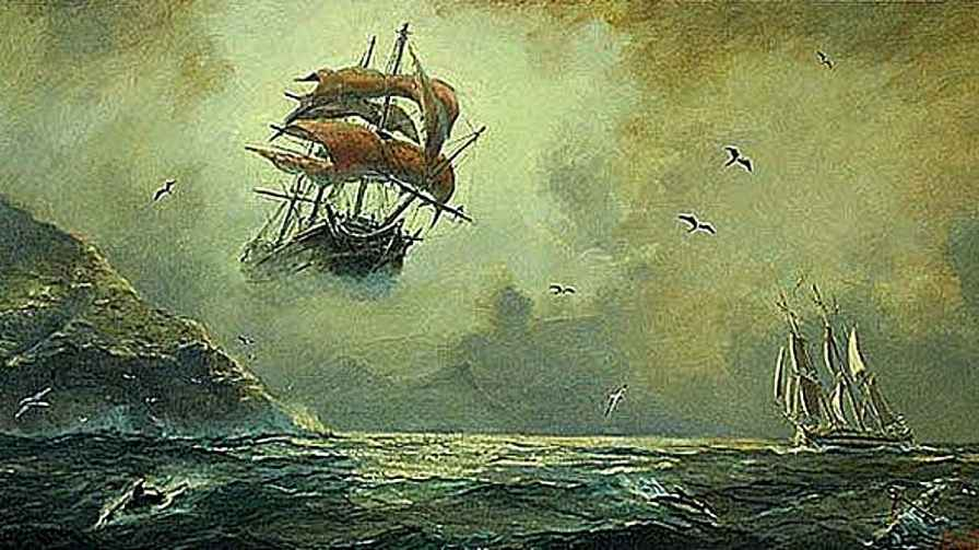 The Mysterious Ghost Ship Flying Dutchman