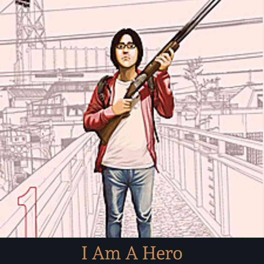 Hayakari Hiromi A Manga Character of 'I Am A Hero' Zombie Manga