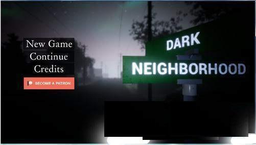 Dark Neighborhood Game