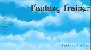 Fantasy Trainer Game
